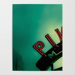 Pike Place Market at Dawn Poster