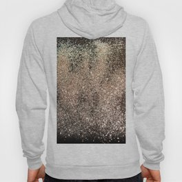 Sparkling GOLD BLACK Lady Glitter #1 #decor #art #society6 Hoody