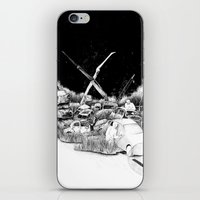 cars iPhone & iPod Skins featuring Cars by Andreas Derebucha