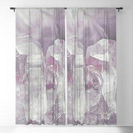 Crystal Clear Sheer Curtain
