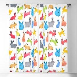 Playful Bunnies Blackout Curtain