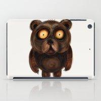 teddy bear iPad Cases featuring Teddy Bear by Riccardo Pertici
