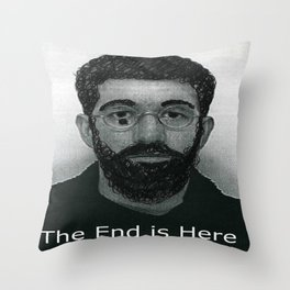 End it now Throw Pillow