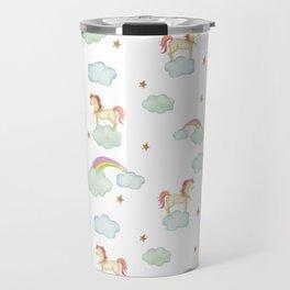 Unicorn pattern Travel Mug