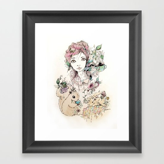 Amigo Framed Art Print