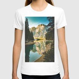 Lago di Braies, Braies, Italy T-shirt