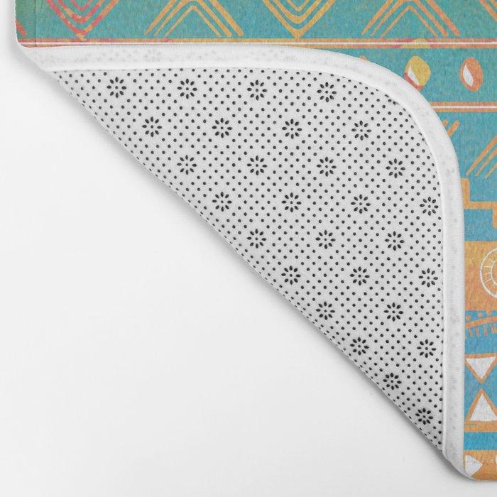 Inspired Aztec Pattern 2 Bath Mat