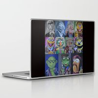 muppets Laptop & iPad Skins featuring Muppets/ Doctor Who Mash-up by Lissyleem