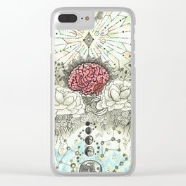 Transcend Your Mind Clear iPhone Case
