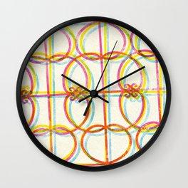 Neon Rejas Wall Clock