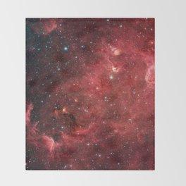 North American Nebula Throw Blanket