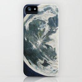 Moon Portrait 3 iPhone Case
