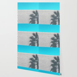 Parker Palm Springs with Palm Tree Shadow Wallpaper