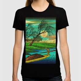 Seba Ohta River Japan Ukiyo e Art T-shirt