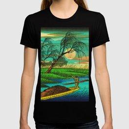 Seba Ohta River Japan Ukiyo e Art T-shirt
