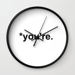 *you're Wall Clock