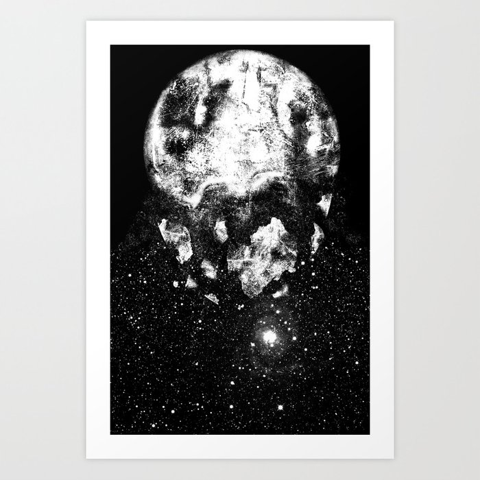 The Moon Is Down Art Print