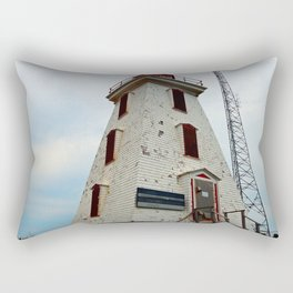 Cape Egmont Lighthouse and Communication Tower Rectangular Pillow