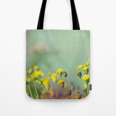 Yellow nostalgia Tote Bag