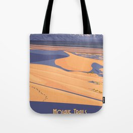 Vintage Poster - Mojave Trailers National Monument, California (2015) Tote Bag