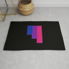 Bisexual and Biromantic Rug
