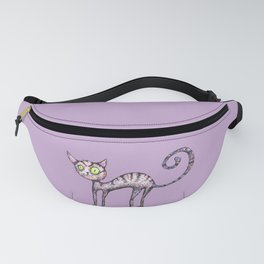 Funny cat Fanny Pack
