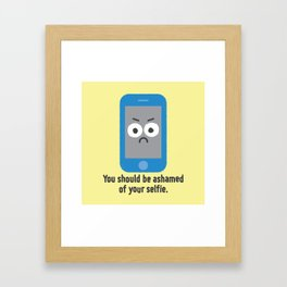 Overexposure Framed Art Print