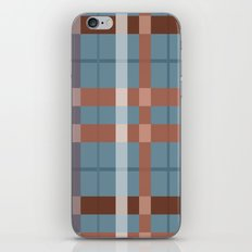 Urban Earth Tone Plaid  iPhone & iPod Skin