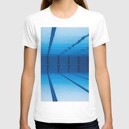 Underwater Empty Swimming Pool. T-shirt