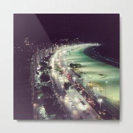Avenida Atlantîca Metal Print