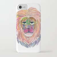 courage iPhone & iPod Cases featuring Courage by Jhoanna Monte