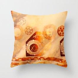 Seething Throw Pillow