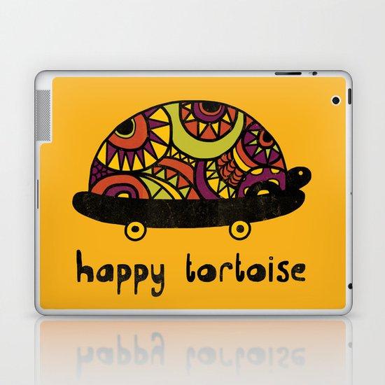 Happy Tortoise Laptop & iPad Skin