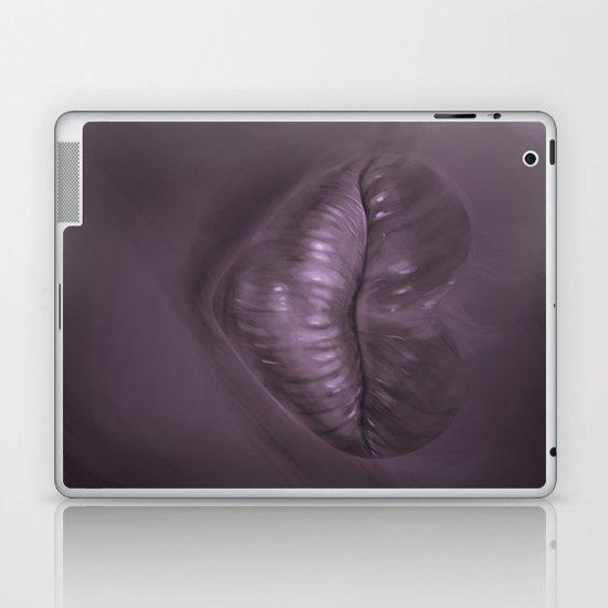 a kiss goodnight Laptop & iPad Skin