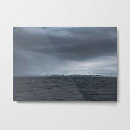 Arctic storm, Tromso Metal Print