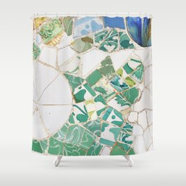 Parc Guell Shower Curtain