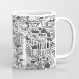 Paris (black and white version) Coffee Mug