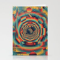 glitch Stationery Cards featuring glitch by Blaz Rojs