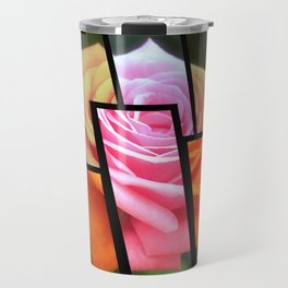 Pink Roses in Anzures 4 Tinted 1 Travel Mug