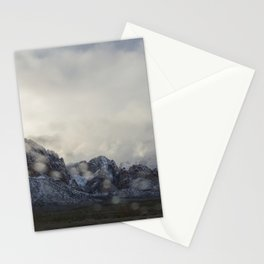 Snowy White Stationery Cards