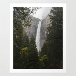 Bridalveil Fall Art Print