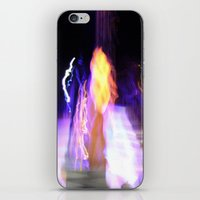 concert iPhone & iPod Skins featuring Concert Lights by Teo Designs