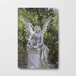 Angel Grave I Metal Print