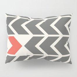 All backfroward - You frontward Pillow Sham