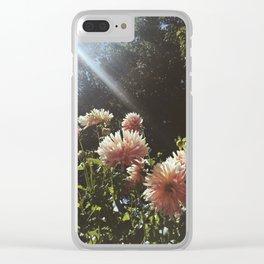 Sunbeam Cluster Clear iPhone Case