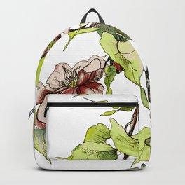 Camellia Inspired Flower Branch Backpack