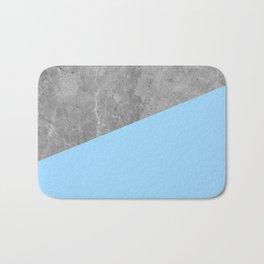 Geometry 101 Blue Raspberry Bath Mat