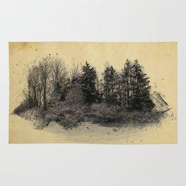old landscape Rug