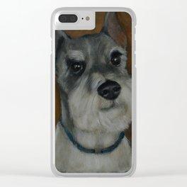 Schnauzer No.5 Clear iPhone Case