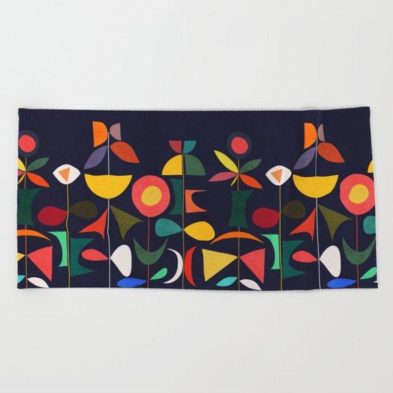 Klee's Garden Beach Towel